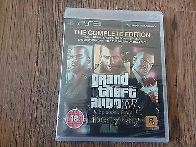 END OF MONTH SALE GTA IV: (4) Complete Edition (PS3)  NEW SEALED PAL