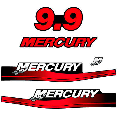 1999-2004 Mercury 60 hp Reproduction Outboard Decal Bigfoot M60CF