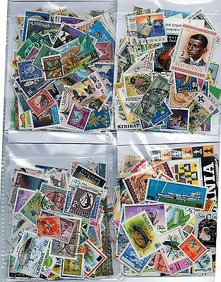 Commonwealth Collection 100+ Stamps Mint & Used All Off Paper ( Generic Image )