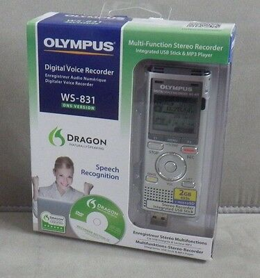 OLYMPUS WS-831 2GB Digital Voice Recorder - NEW & SEALED