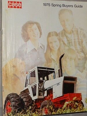 1975 Case Tractors Spring Buyers Guide