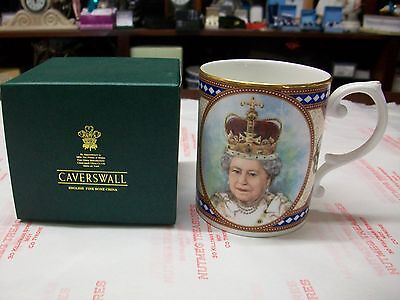 orange order CAVERSWALL LIMITED EDITION EDINBURGH MUG QUEEN'S CORONATION BNIB