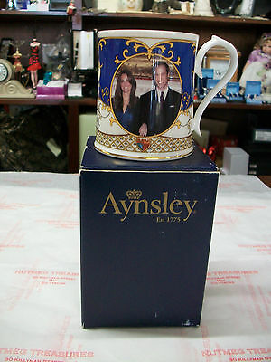 ORANGE ORDER Ulster Aynsley commemorative ROYAL WEDDING tankard BNIB