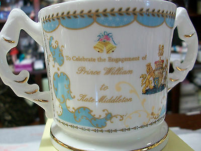 ORANGE ORDER Ulster Aynsley commemorative ROYAL ENGAGEMENT LOVING CUP BNIB