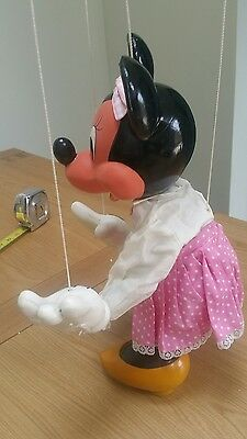 "*** PELHAM PUPPET DISNEY -  Minnie Mouse 18"" Display SIZE  ***"