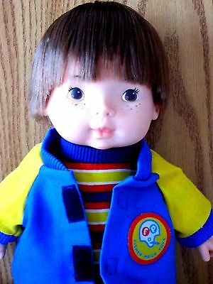 Fisher Price Joey Lapsitter Doll 206  Restored To Close To Mint Condition