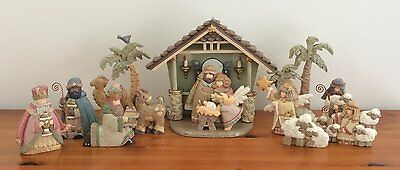 Unusual & stunning Kurt S. Adler Nativity Set (from Canada)