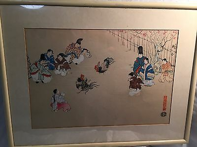 Japanese Woodblock – Original Kin-u Takeshita 20th Century Woodblocks
