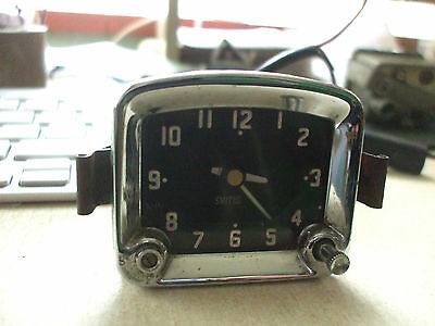Vintage Smiths Car Dashboard Square Domed Top Clock