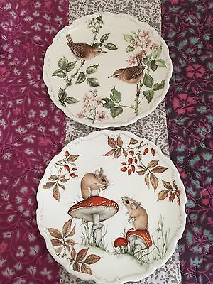 Royal Albert 2 Plate Collection Summer Song / Autumn Playtime