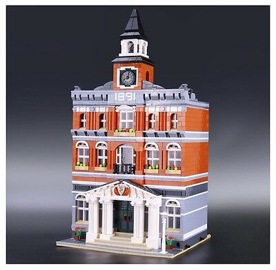 Kid's Toys The town hall- 100% Compatibile Lego - 2859Pcs - Nuovo