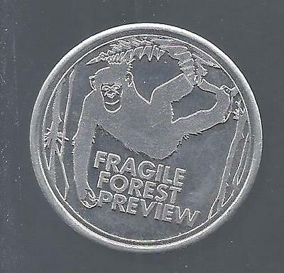ST. LOUIS ZOO FRAGILE FOREST PREVIEW coin/token - Zoo Friends Day - May 2005