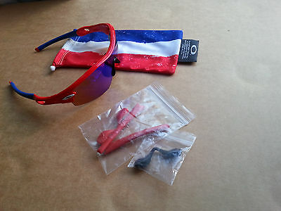 oakley radar red