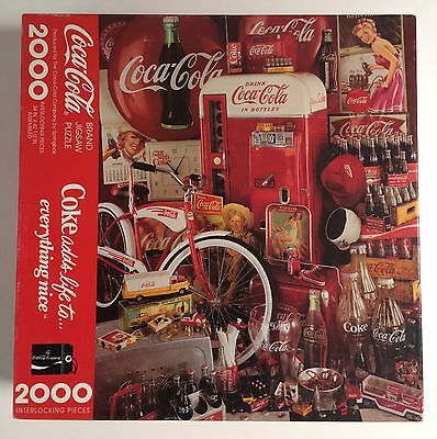 Coca-Cola 2000 Piece Puzzle by Springbok 1991