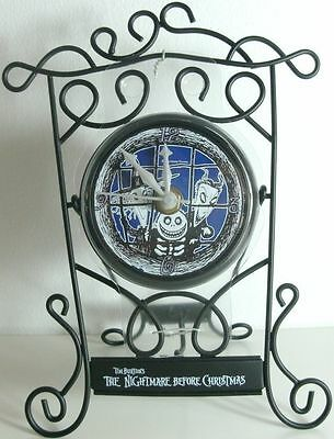 Nightmare Before Christmas Metal Frame Clock Lock Shock Barre Japan Prize Figure