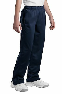 Sport-Tek YPST91 Workout Pants Unisex Child Tricot Track Pant NEW