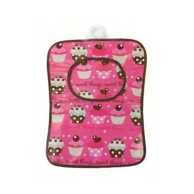 Beamfeature Cupcake High Quality Plastic Peg Bag with Clothes Line Hanger in