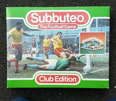 Vintage Subbuteo Club Edition Set Ref 60140