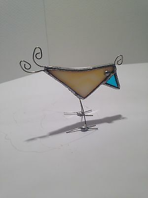 Handmade Stained Glass Bird