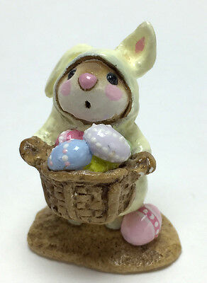EASTER BUNNY-MOUSE By Wee Forest Folk, WFF# M-82 Retired in 2003! EXCELLENT!