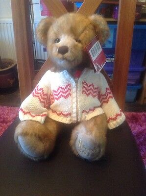 Harrods 2011Foot Dated Bear Named Freddie With Tag