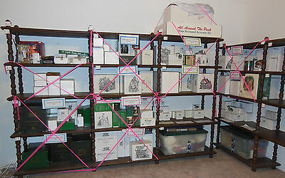 """Dept 56 """"build Your Display"""", Items Of Your Choice, Dickens', North Pole, Etc."""
