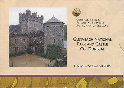 Irland KMS 2006 EURO im orig. Folder, Donegal, Ireland, Coin Set, Münzen
