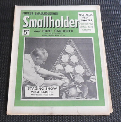 Smallholder and Home Gardener Magazine, July 29th 1961