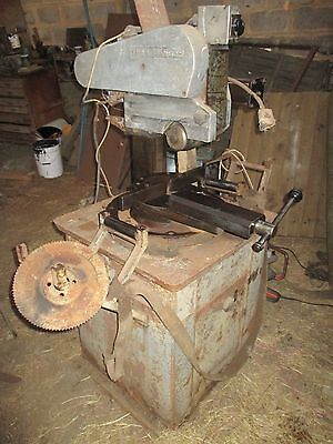 Trenjaeger Cold saw , chopsaw metal cutting 3 phase