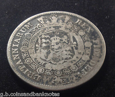 British 1816 George Iii Silver Half Crown Coin