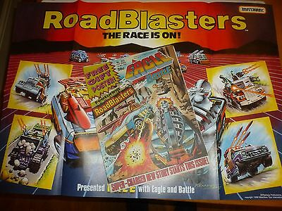BATTLE & EAGLE Comic - No 320 - Date 30/04/1988 - Comic (Inc Roadblasters Poster