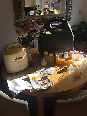 medela symphony breast pump With Case  Only 17 Hours Immaculate