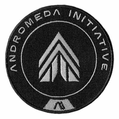 Mass Effect Andromeda Apex Force Embroidered Official Iron/Sew On Patch