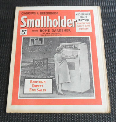 Smallholder and Home Gardener Magazine, June 3rd 1961