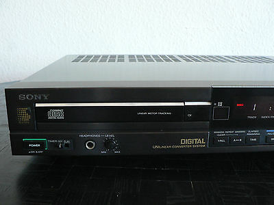 Rare! SONY CDP 303ES high end CD Player Esprit Serie BU-1C perfect working TOP!