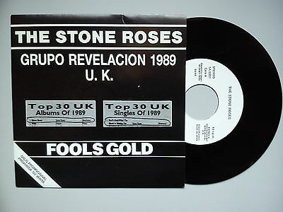 "The Stone Roses - ""fools Gold"" - Mega Rare Spanish Only Promo Vinyl Single. Whit"