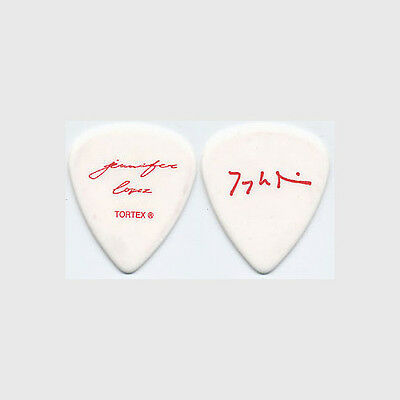 Jennifer Lopez Tariqh Akoni authentic 2006 concert tour signature Guitar Pick