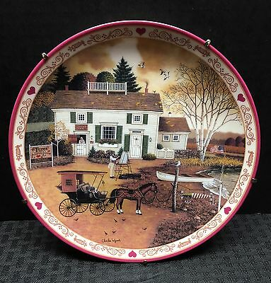 """Charles Wysocki's Hometown Series """"Capturing... Birch Point Cove"""" Plate #4 (mm)"""