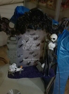 nightmare before Christmas photo frame