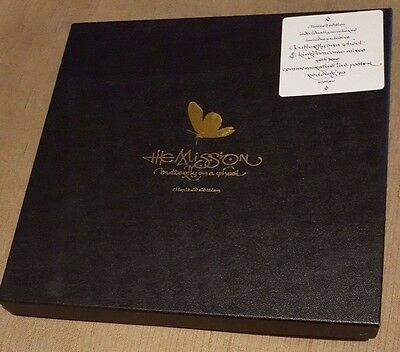 """THE MISSION - Butterfly On A Wheel ~10"""" Vinyl~ *BOX SET Ltd Ed Numbered*"""