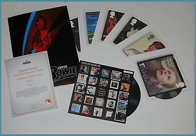 **SOLD OUT** David Bowie Souvenir Stamp Folder Limited Edition of 2,500 (110617)