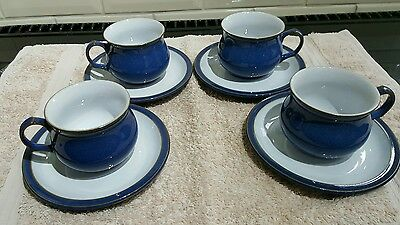 Denby Imperial Blue, Cup and Saucer(Lovely!)