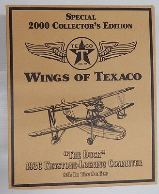 """Wings of Texaco Collector's """"DUCK"""" 1936 KEYSTONE-LOENING COMMUTER 8th In Series"""