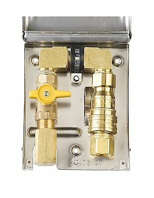Burnaby Manufacturing Ltd BBQ-SS-50 Gas Outlet Box with 1/2-Inch Inlet 1/2-In...