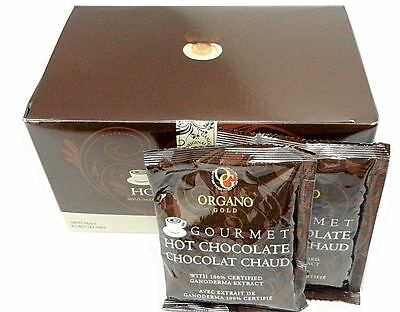 Gourmet Hot Chocolate with Organic Ganoderma Lucidum 15 sachets by Organo Gold
