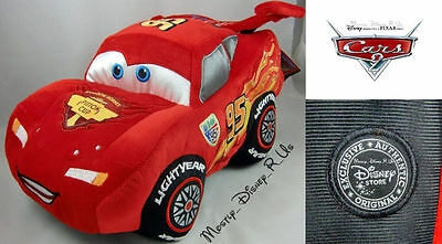 """Disney Store Exclusive CARS 2 Lightning Mcqueen 12"""" Plush Toy Doll RARE WGP New"""