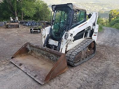 2013 Bobcat T590 Track Skid Steer Cab A/c Sjc Pilot Ready 2 Work In Pa! We Ship!