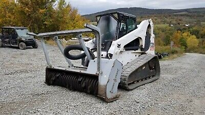 Bobcat T300 Track Skid Steer Cab A/c Ready 2 Work In Pa! We Ship Nationwide!