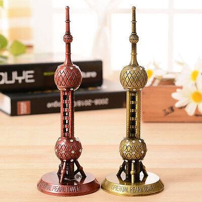 """Architecture Models 7"""" China The Oriental Pearl Tower Replica Travel Souvenirs"""