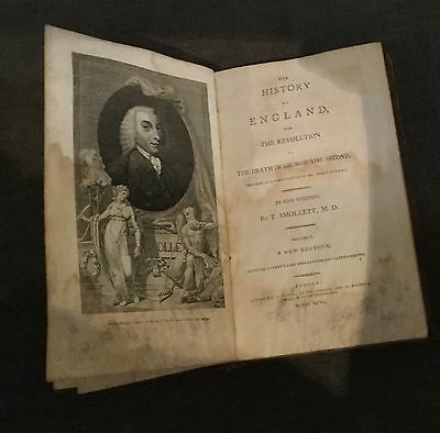 A COMPLETE HISTORY OF ENGLAND/T. Smollett/A New Edition/Volume 1- 1762